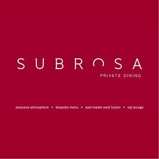 Subrosa Private Dining - Singapore