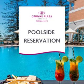 Poolside at Crowne Plaza Terrigal Pacific - Terrigal