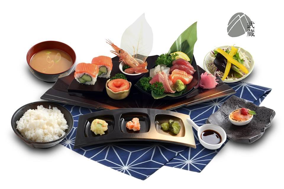 Musashi japanese cuisine new lynn book restaurants for Asian cuisine books