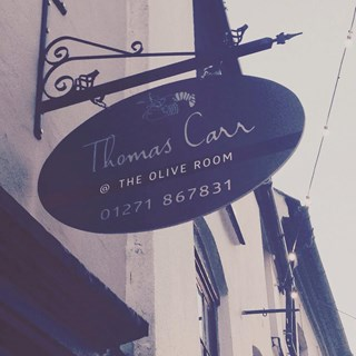 Thomas Carr @ The Olive Room - Ilfracombe