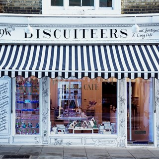 Biscuiteers Notting Hill Icing Cafe - London