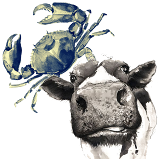 Crab and Cow -  Leicestershire