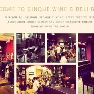 Cinque Wine & Deli Bar - Psiri