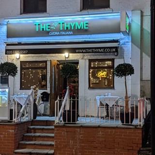 The Thyme Italian Restaurant - CHISLEHURST