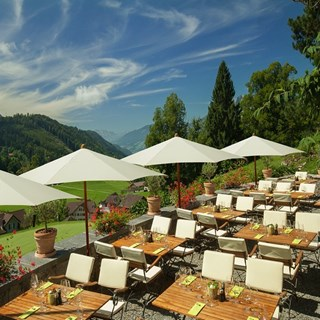Osteria Alpina - Terrazza - Obbuergen