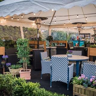 Queens Hotel Summer Garden - Cheltenham