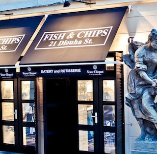 Fish and Chips - Praha 1