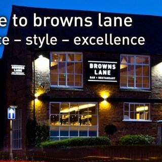 Browns Lane Bar and Restaurant - LOUGHBOROUGH