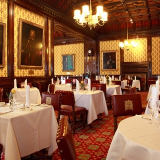 Peers' Dining Room at the House of Lords - London