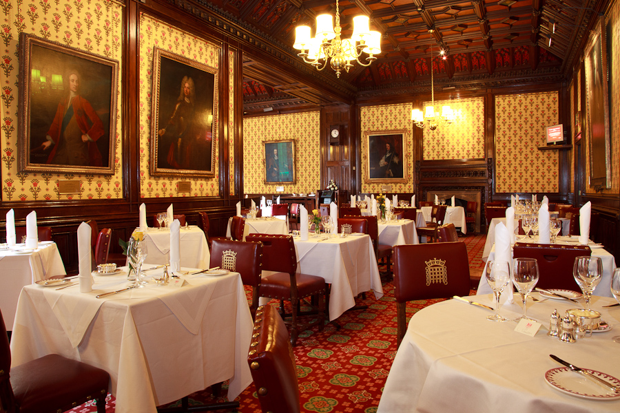 Peers Dining Room At The House Of Lords