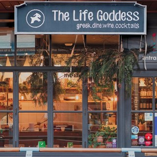 The Life Goddess Kingly Court, greek food & wines - London