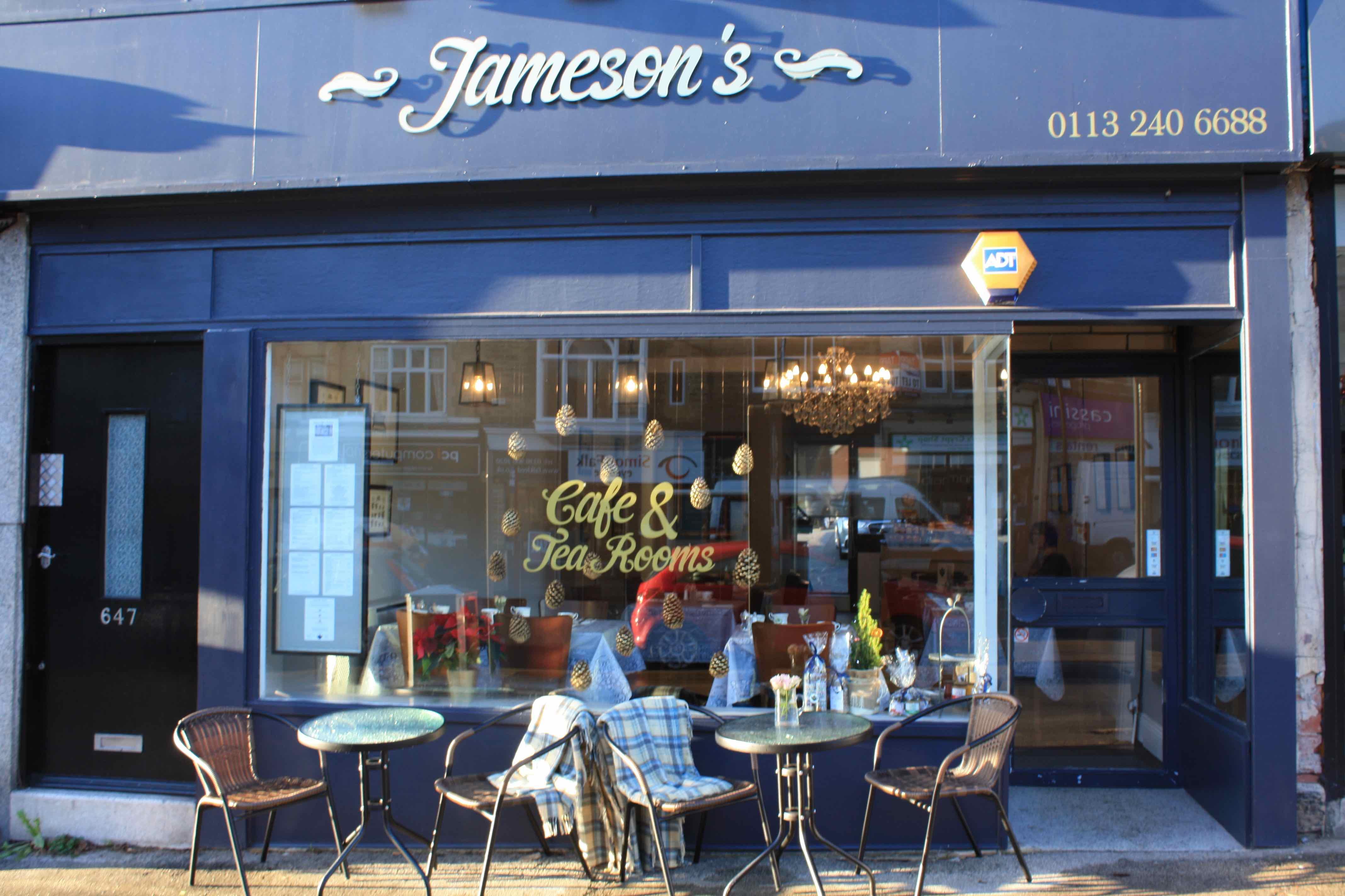 Jameson S Cafe Tea Rooms Leeds